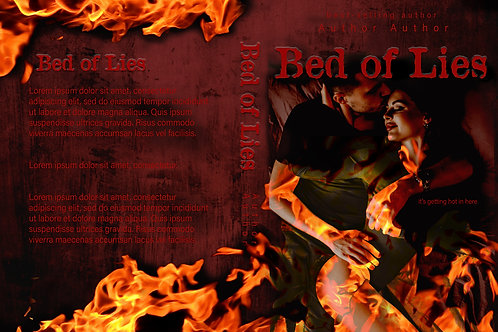 Bed of Lies PreMade Book Cover Design