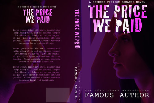 The Price We Paid PreMade Book Cover Design