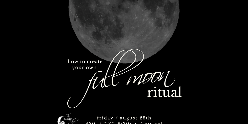 How to Create Your Own Full Moon Ritual