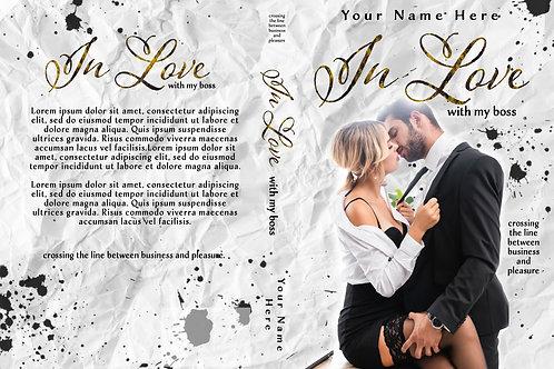 In Love PreMade Book Cover Design