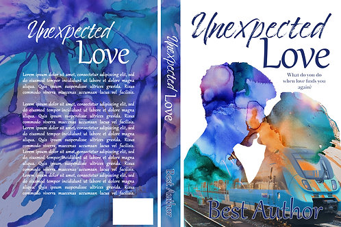 Unexpected Love PreMade Book Cover Design