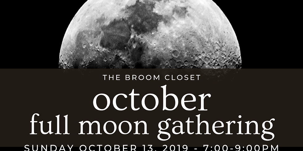 Full Moon Gathering at The Broom Closet