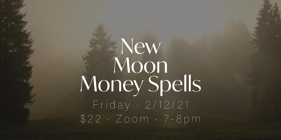 Yoga: New Moon Money Spells
