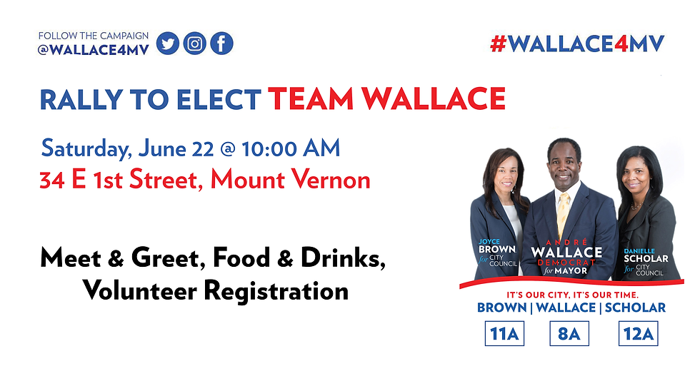 Rally to Elect Team Wallace (FB Header).