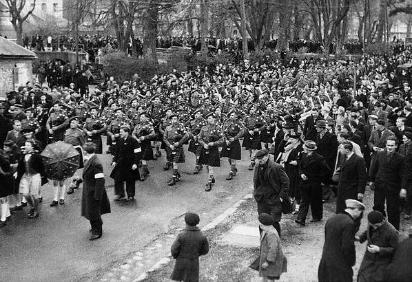51st Highland Division in 1944 liberatio