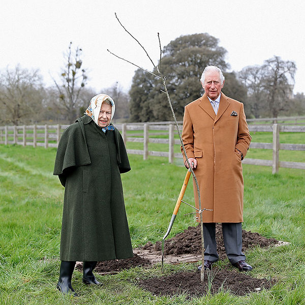 Queens Green Canopy - HRH The Queen and