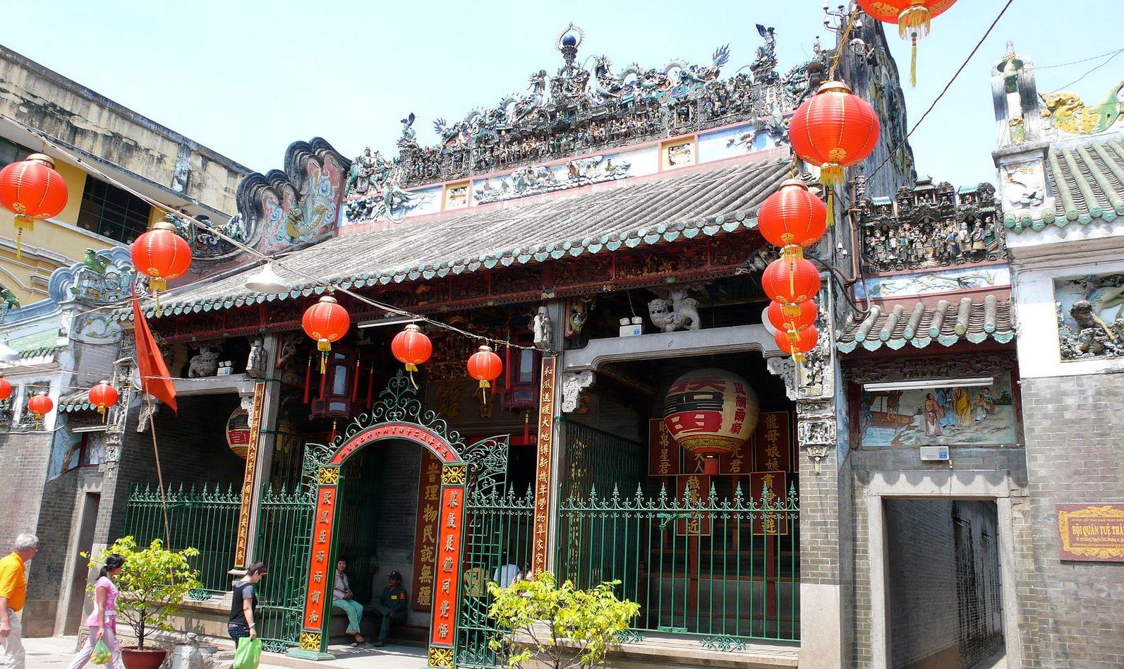 中華街の寺院