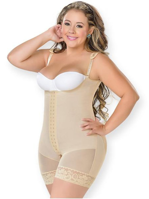 0068 Slimming Mid Thigh Body Shaper for Women / Powernet