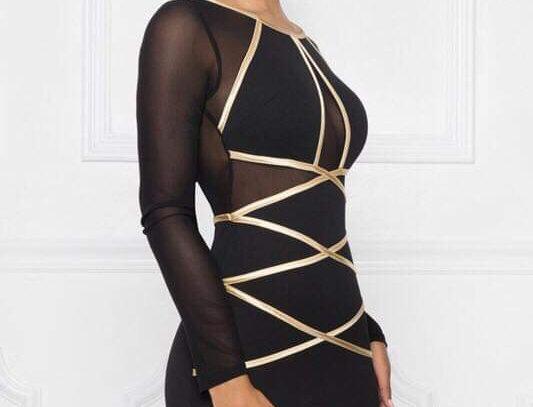 Tatiana black dress