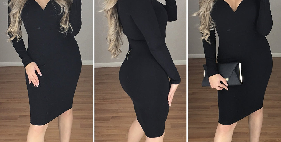 DESIRE Couture Dress (BLACK)