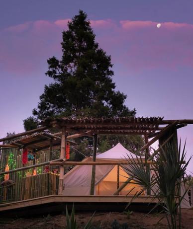 Tiki Tent Paradise Glamping