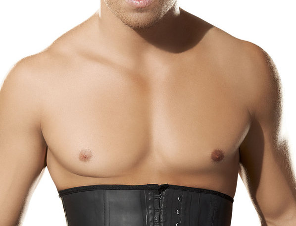 Ann Chery 2031  Latex Waist girdle Men