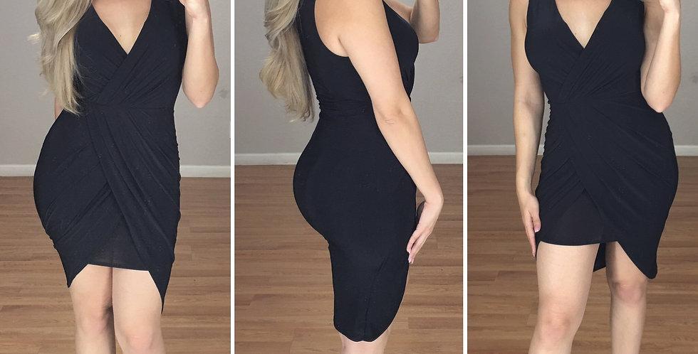 Africa midi Dress (BLACK)