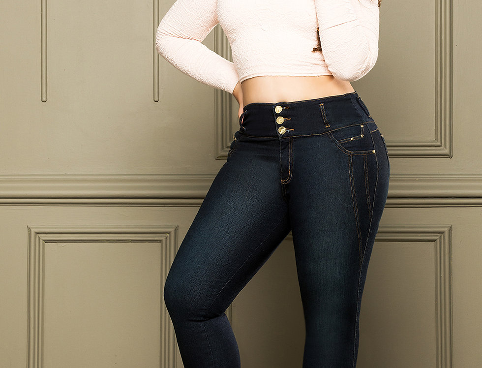CURVY BUMP UP COLOMBIAN JEANS REF 10277