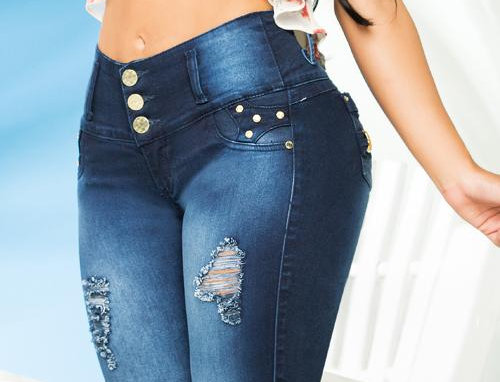 LUJURIA BUMP UP JEANS #78718