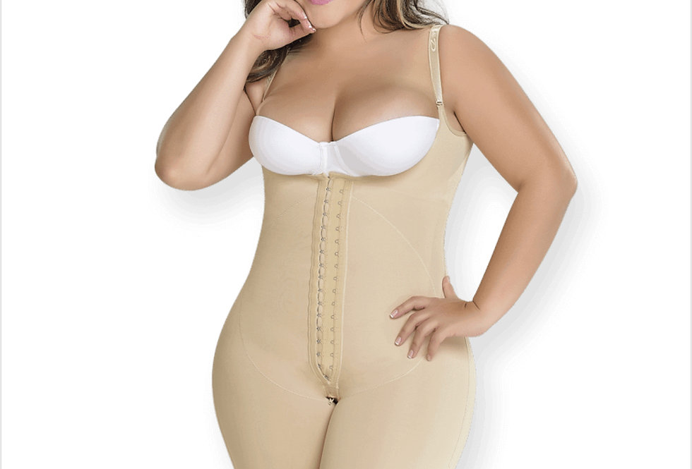 Short girdle with back cover Ref. F0068