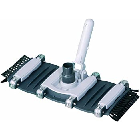 "Graphite 9"" Flexible Vac Head with Side Brushes"