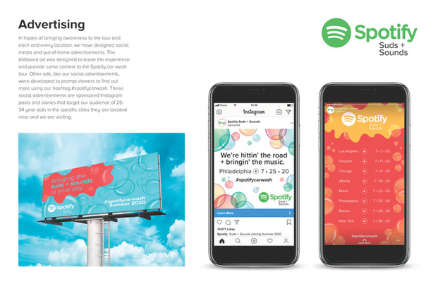 Spotify Suds + Sounds Campaign