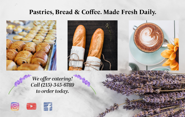 Lavande French Bakery Webpage Cont.