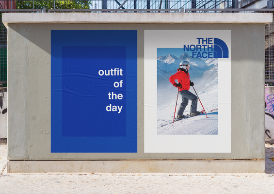 Just Girly Things Campaign for The North Face - Blue