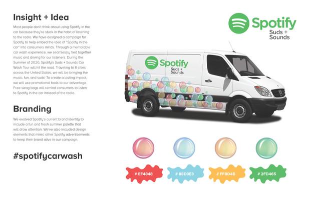 Spotify Suds + Sounds Pitch