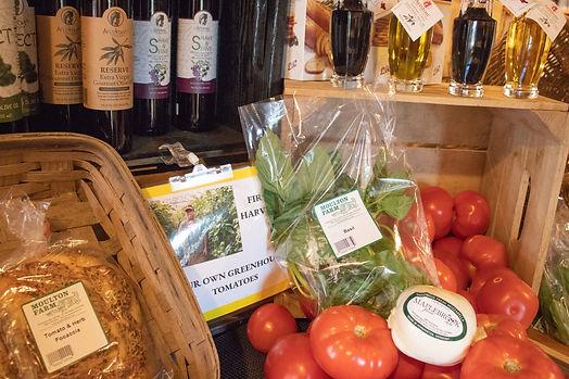 farm market tomato basil mozzarella farm bakery focaccia bread.jpg
