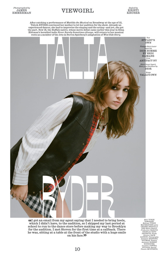 Interview magazine Fall Issue_2020