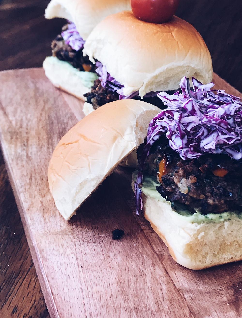 vegan black bean burger recipes