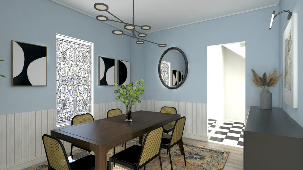 Malden Modern Dining Room