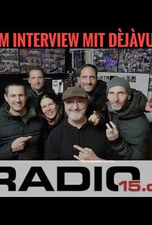 Interview bei Radio15