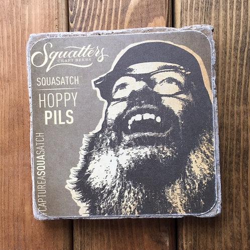 Squatters Squasatch Hoppy Pills Coaster