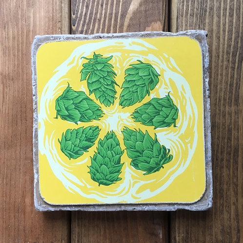 Deschutes Hop Slice IPA Coaster