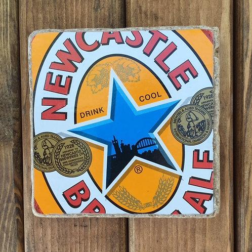 Newcastle Brown Ale Coaster