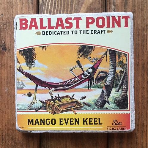 Ballast Point Mango Even Keel Coaster