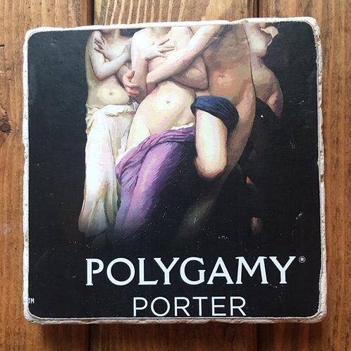 Wasatch Polygamy Porter Coaster