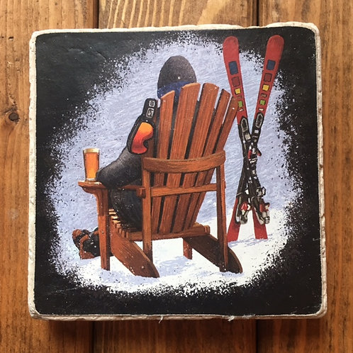Wasatch First One Down Winter Warmer Ale Coaster