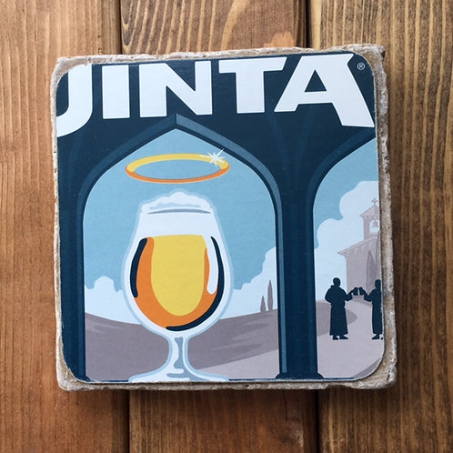 Uinta Monkshine Belgian Style Blonde Ale Coaster