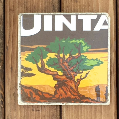 Uinta Bristlecone Brown Ale Coaster
