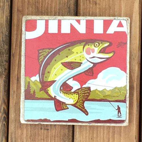 Uinta Cutthroat Pale Ale Coaster