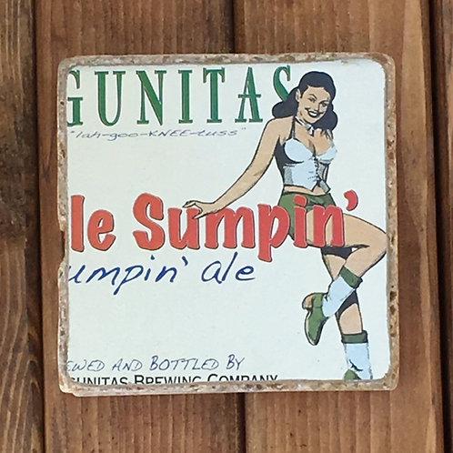 Lagunitas Little Sumpin' Ale Coaster