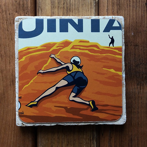 Uinta Freeform Gluten Free IPA Coaster