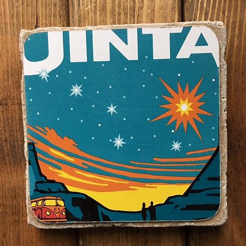 Uinta Dubhe Imperial Black IPA Coaster