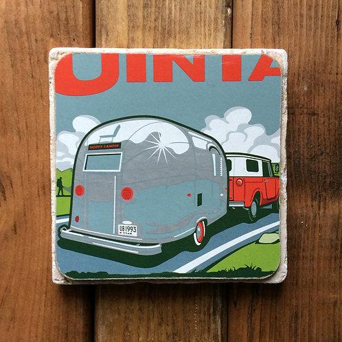 Uinta Detour Double IPA Coaster