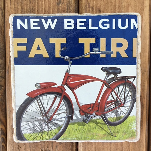 New Belgium Fat Tire Coaster