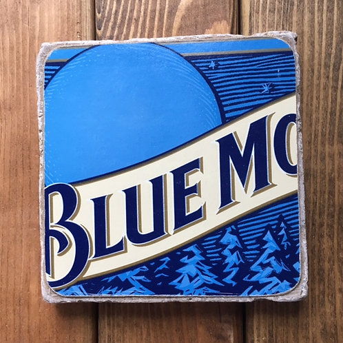 Blue Moon Belgian White Coaster