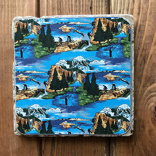 Deschutes Pacific Wonderland Lager Coaster