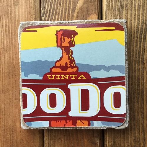 Uinta HooDoo Kolsch Style Ale Coaster