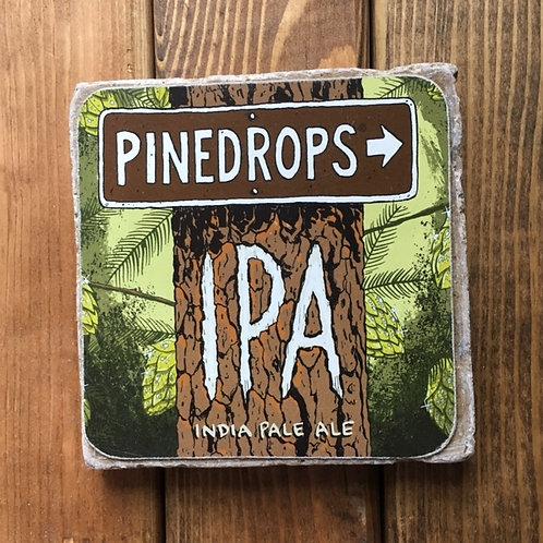 Deschutes Pinedrops IPA Coaster