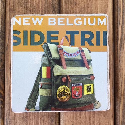 New Belgium Side Trip Coaster