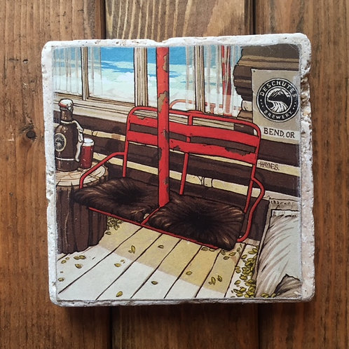 Deschutes Red Chair Coaster